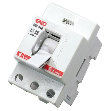 Garo HB 340 Huvudbrytare 40 A, 3-polig