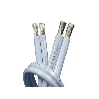 SUPRA 1000000107 Högtalarkabel isolering av jonstabil PVC