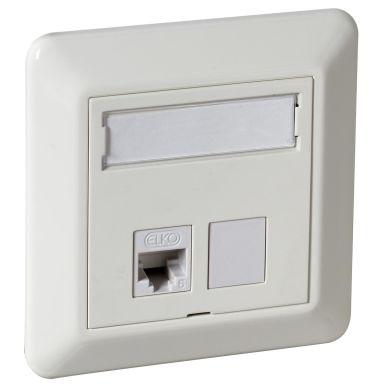 Elko EKO02541 Modularuttag STP C6A, QuickConnect