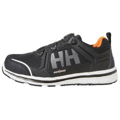 H/H Workwear Oslo BOA Low Skyddssko S3, svart, aluminiumhätta