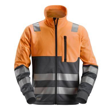 Snickers 8035 AllroundWork Fleecejacka varsel, orange
