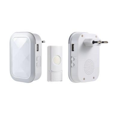 Gelia 4004332321 Dörrsignal trådlös, plug-in