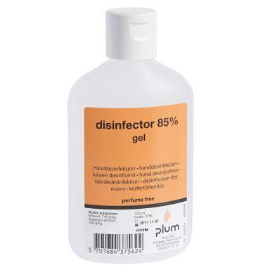 Plum Disinfector Desinfeksjonsgel gel, 85%
