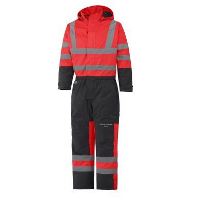 H/H Workwear Alta Overall varsel, röd/svart