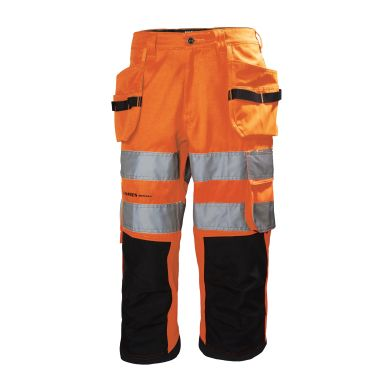 Helly Hansen Workwear Alna Arbetsbyxa varsel, orange/svart