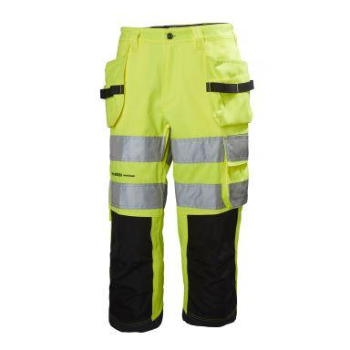 Helly Hansen Workwear Alna Arbetsbyxa varsel, gul/svart
