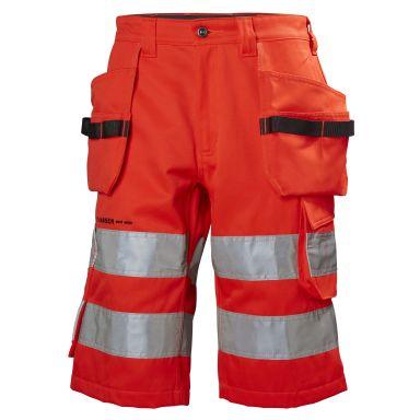 H/H Workwear Alna Arbetsshorts varsel, röd