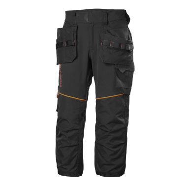 H/H Workwear Chelsea Evolution Arbetsbyxa svart, 4-vägs stretch