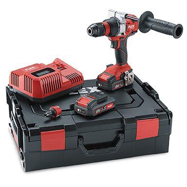 Flex DD2G 18.0-EC Set Borrskruvdragare med batterier och laddare