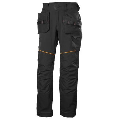 H/H Workwear Chelsea Evolution Midjebyxa svart