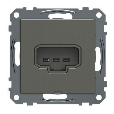 Schneider Electric Exxact WDE005011 Valaisimen liitin DCL, 1-suuntainen, 2-napainen, maadoitettu, rasiaan