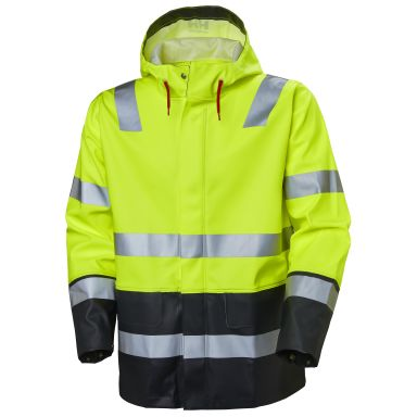 Helly Hansen Workwear Alna Regnjacka varsel, gul/svart