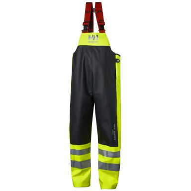 H/H Workwear Alna Regnbyxa varsel, gul/svart