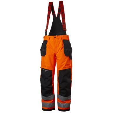 Helly Hansen Workwear Alna Arbeidsbukse varsel, oransje/svart