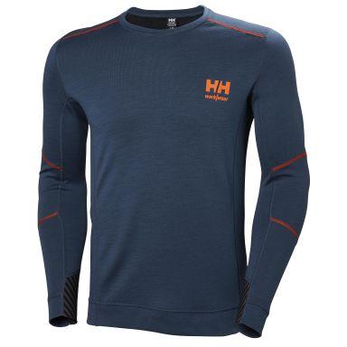H/H Workwear Lifa Merino Undertröja blå