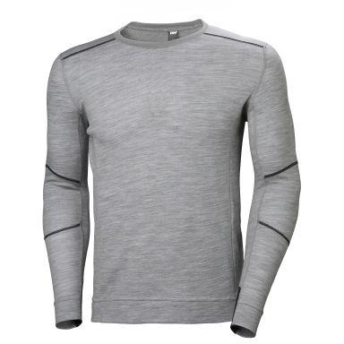 H/H Workwear Lifa Merino Undertröja grå