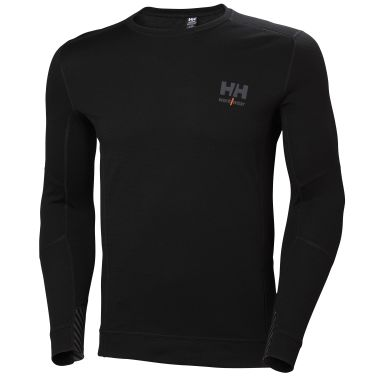 H/H Workwear Lifa Merino Undertröja svart