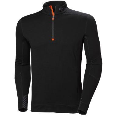 H/H Workwear Lifa Merino Underställströja svart