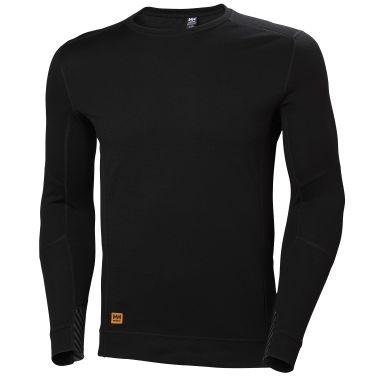 H/H Workwear Lifa MAX Undertröja svart