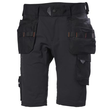 H/H Workwear Chelsea Evolution Shorts svart