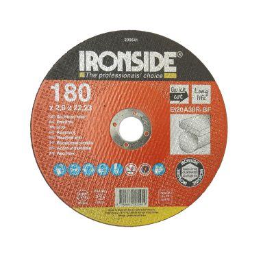 Ironside 200541 Kapskiva 180 mm, F41, EI20, Inox
