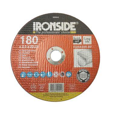 Ironside 200542 Kapskiva 180 mm, F41, EI20, Inox