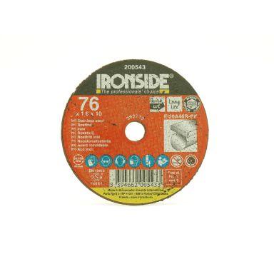 Ironside 200543 Kapskiva 76 mm, F41, EI20, Inox
