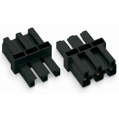Wago 770-603 Mellomkobling 3-polet, HO/HA, svart