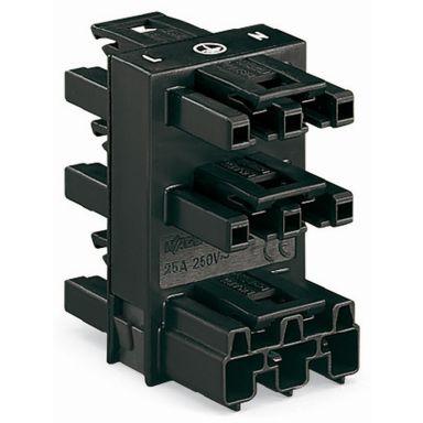 Wago 770-608 Fordelingsblokk svart