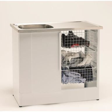 Nimo NB 1000 TMS Tvättbänk halvöppen, tre trådbackar