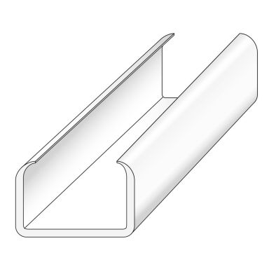 Norwesco 850205 Fästlist 7,8 x 6 x 1200 mm, 10-pack