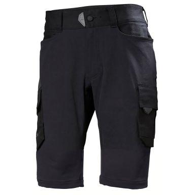 H/H Workwear Chelsea Evolution Arbetsshorts svart, 4-vägs stretch