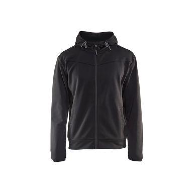 Blåkläder 336325269998XXXL Hettegenser med glidelås, svart/mørkegrå