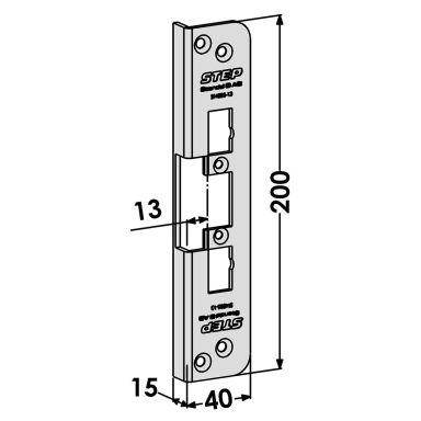 STEP ST4005-13 Stolpe för STEP 90 Release