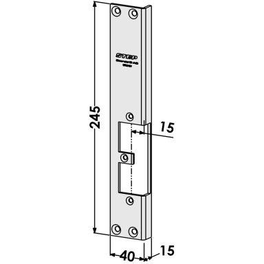 STEP ST9519V Stolpe utbyte från Connect till Modul-serien