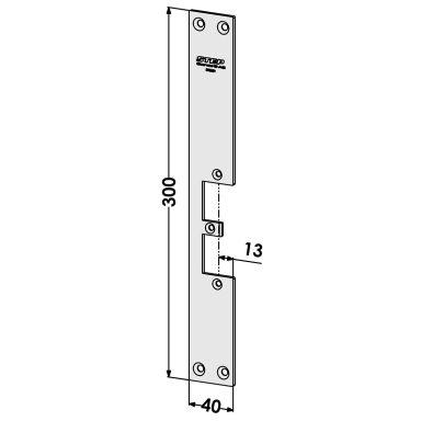 STEP ST9521 Stolpe för STEP 18 och 28E Secure