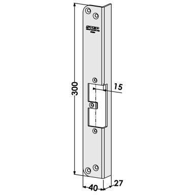 STEP ST9524 Stolpe för STEP 18 och 28E Secure