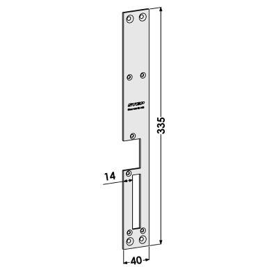 STEP ST188-A Stolpe för STEP 15 Secure och Fas 981