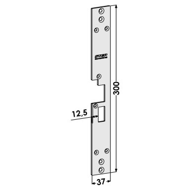 STEP ST1801-B Stolpe för Connect/Modul
