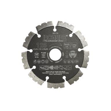 Ironside 201179 Diamantkapskiva universell, 125x22,23x2,3 mm