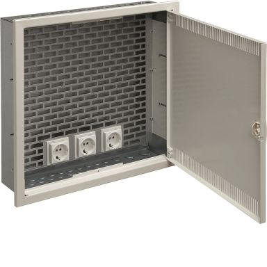 Hager VU218SMB Centralapparat infälld, IP30
