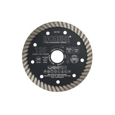 Ironside 201181 Diamantkapskiva 125x22,23x2,2 mm