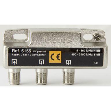 Televes 5155 Fördelare med F-anslutning