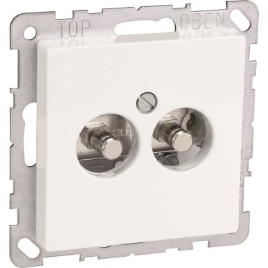 Schneider Electric WDE002729 Uttag för potentialutjämning, 2-vägs
