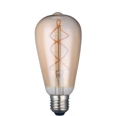 Gelia Deco Edison LED-lampa 220 lm, 4 W, dimbar