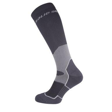 Solid Gear Compression Sock Strumpa grå