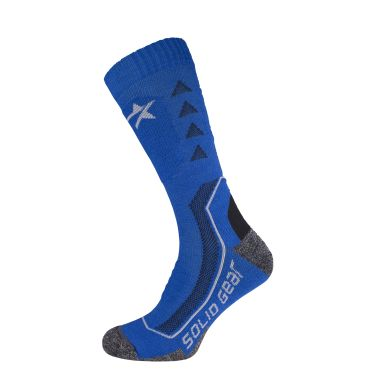 Solid Gear Extreme Performance Winter Strumpa blå, merinoull