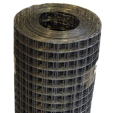 Axjo 13515709 Metallnät svetsat, 1 x 10 m
