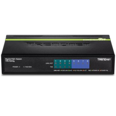 TRENDnet TPE-TG44G Switch 61.6 W, 4 portar