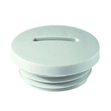 Rutab 1466159 Avslutningspropp ljusgrå polyamid